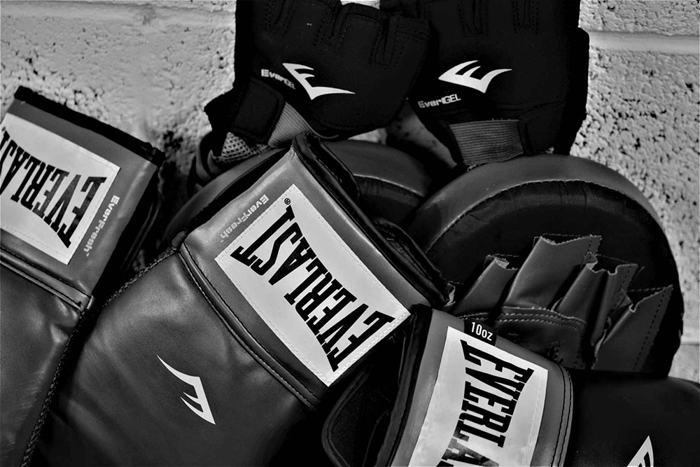 Boxing gloves at Simply Fitt gym