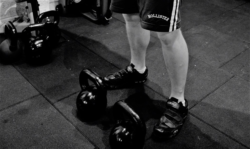 Kettle Bells at Simply Fitt Gym